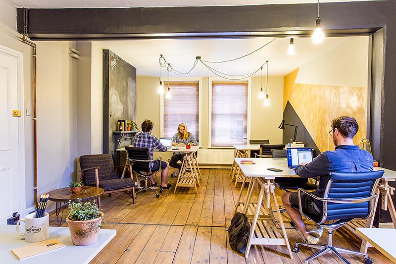 Dodo works office room