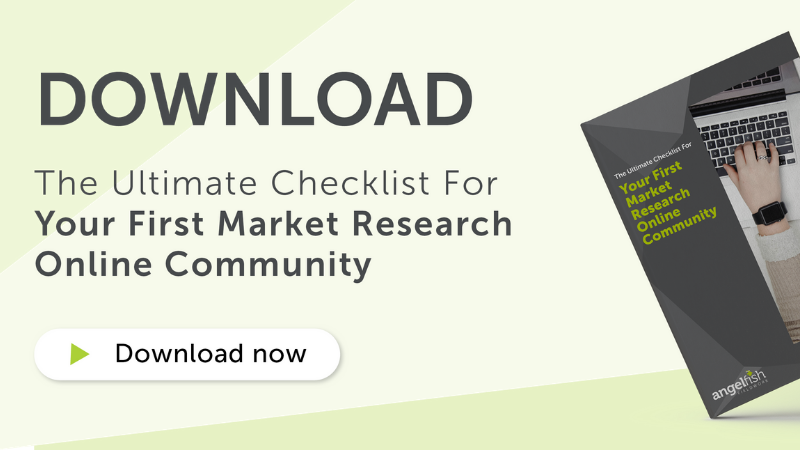 Download CTA banner - The ultimate checklist for your first market research online community